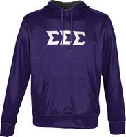 Sigma Sigma Sigma Unisex Pullover Hoodie Heather (Online Only)