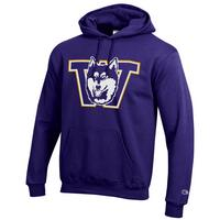 Champion Husky Powerblend Fleece Hooded Sweatshirt