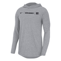 Nike Marled Jersey Long Sleeve Pullover Hood