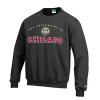 University of Chicago Champion Crew Sweatshirt