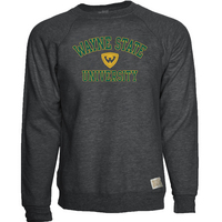 Retro Brand Heather Fleece Crew