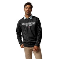 League Mens Heritage Classic Crew Sweatshirt