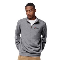 League Mens Triblend Collegiate Quarter Zip