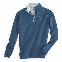 Peter Millar UNC Lineberger Cancer Center Perth Stretch Quarter Zip