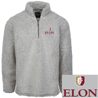 Quarter Zip Sherpa Fleece Pullover