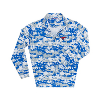 The Collection at SMU Ecotec Camouflage Quarter Zip