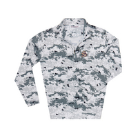The Sewanee Tigers Collection Ecotec Camouflage Quarter Zip