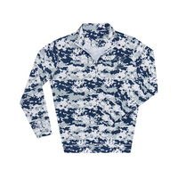 The Collection at Yale Ecotec Camouflage Quarter Zip