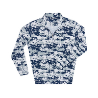 The Collection at Georgetown Ecotec Camouflage Quarter Zip
