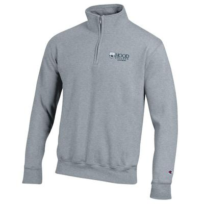 Champion Alumni Powerblend Pocketless Quarter Zip