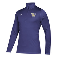 Adidas Mens Fleece Quarter Zip