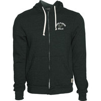 Retro Brand Heather Fleece Full Zip Hood