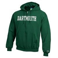 Champion Dartmouth Big Green Full Zip Hoodie