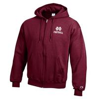 Mississippi State Bulldogs Champion Full Zip Hoodie