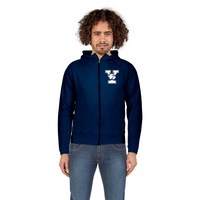 Alta Gracia Scuba Neck Zip Featherfeel Fleece Hood