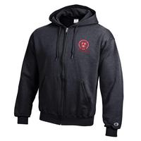 Champion Alumni Powerblend Full Zip Hood