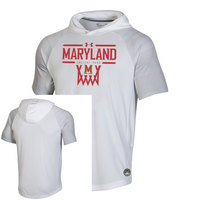 Under Armour Mens SS Hooded On Court Tee
