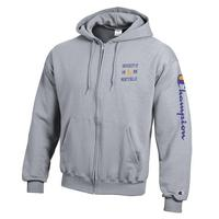 Champion Powerblend Full Zip Hoodie Sweatshirt