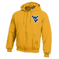 WVU Mountaineers Champion Full Zip Hoodie