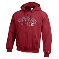 Washington State Cougars Champion Full Zip Hoodie