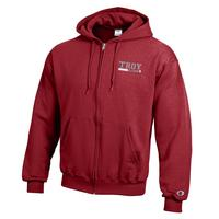 Troy University Champion Full Zip Hoodie