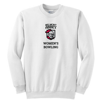 Womens Bowling Crew Neck Sweatshirt (Online Only)