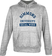 Spectrum Social Work Unisex Distressed Pullover Hoodie