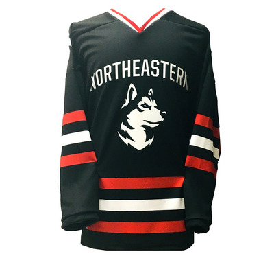 sale retailer 6aad3 702f5 Sublimated Hockey Jersey | The Northeastern University Bookstore