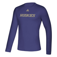 Adidas Husky Mens Creator Performance Wicking Long Sleeve T Shirt