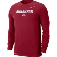 Nike Long Sleeve Dri Fit Lockup