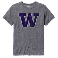 League Husky Victory Falls Cotton Blend Crew Neck T Shirt