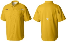 COLUMBIA COLLEGIATE TAMIAMI SHORT SLEEVE SHIRT