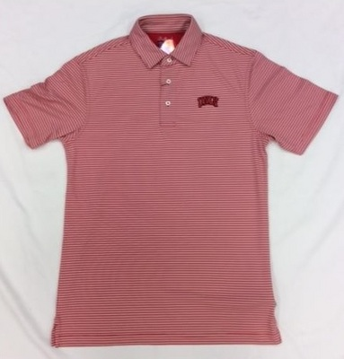 Oxford America Stripe Polo