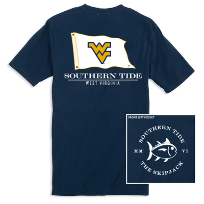 Southern Tide Nautical Flag Gameday T Shirt