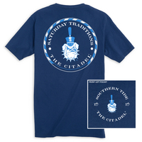 Southern Tide College Circle T Shirt
