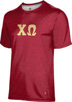 Chi Omega Unisex Short Sleeve Tee Heather (Online Only)