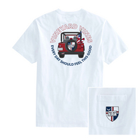 Vineyard Vines Jeep Short Sleeve Pocket Tee
