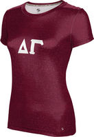 Delta Gamma Womens Short Sleeve Tee Prime (Online Only)