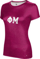 Phi Mu Womens Short Sleeve Tee Heather (Online Only)