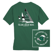 Southern Tide Gameday Sailboat Tee