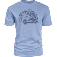 Blue 84 Dyed Ringspun T Shirt