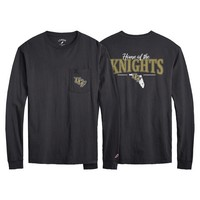League All American Long Sleeve Pocket T Shirt