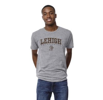 League Mens Victory Falls Triblend Short Sleeve T Shirt