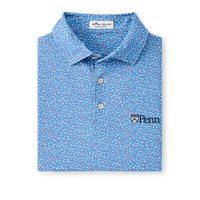Peter Millar Cathay Printed Mesh Polo Shirt