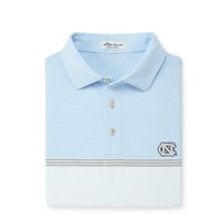 Peter Millar Aycock Engineered Stripe Stretch Jersey Polo