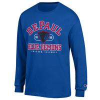 DePaul Champion Long Sleeve TShirt