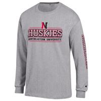 Northeastern Huskies Long Sleeve TShirt