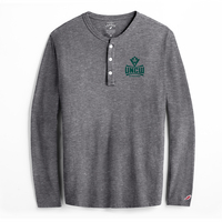 League All American Henley Long Sleeve T Shirt