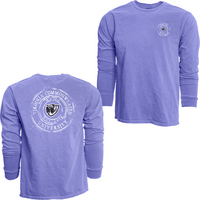Blue 84 Long Sleeve Dyed Ringspun Cotton Long Sleeve T Shirt