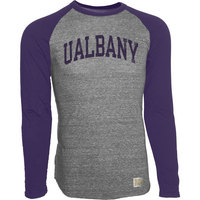 Retro Brand Raglan Long Sleeve T Shirt
